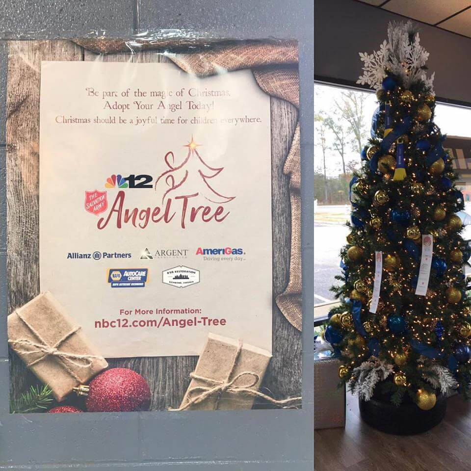 Angel Tree S. Chesterfield