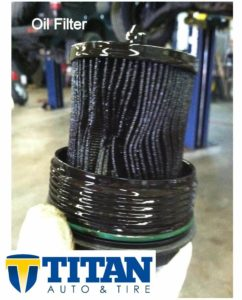 Never re use an oil filter. It will stop catching dirt which can cause engine damage.