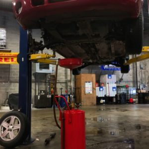 Oil Change at Titan Auto & Tire, Moseley Virginia